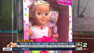 Lead-laden & data-collecting toys top 2017