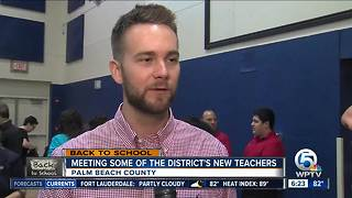 New Palm Beach County teachers ready for start of school - Video