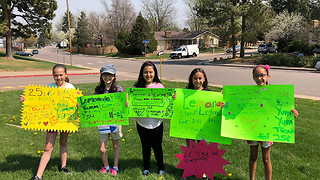 Lemonade stand with a mission gets national recognition - Video