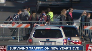 Navigating Nashville's New Year's Eve Traffic, Parking - Video