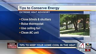 Tips to keep your home cool in the heat - Video