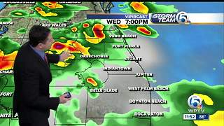 South Florida Wednesday afternoon forecast (8/23/17) - Video