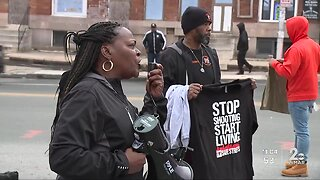 Safe Streets march after 31-year-old mother killed