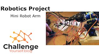 Robotics Project: Successfully expand the robot gripper arm to lift and turn it