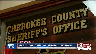 Body identified as missing veteran