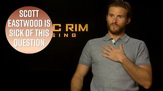 Stop asking Scott Eastwood about Star Wars - Video