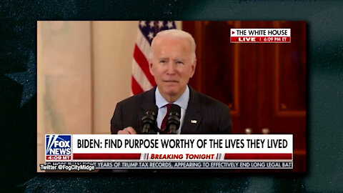 Biden's Remarks Are Unintelligible, Claims He wants To Vaccine 300 People...Twice