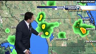 Early morning Friday forecast - Video