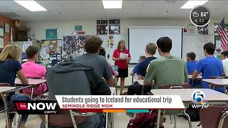 Students to travel to Iceland - Video