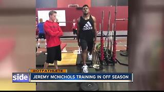 McNichols works out in Meridian - Video