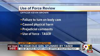 Report: Officer who stunned girl broke CPD rules