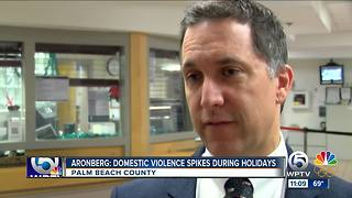 State Attorney Dave Aronberg covers court on Christmas - Video
