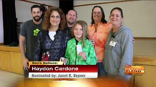 Ben's Bellee: Haydon Cardone - Video