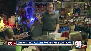 Historical treasures fill Shawnee classroom - Video