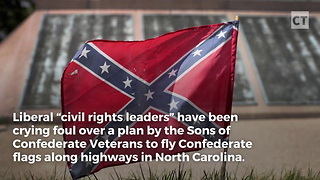 Liberals in Meltdown as Confederate Flags Go Up - Video