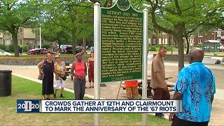 Unveiling of historical marker at 12th and Clairmount brings back memories - Video