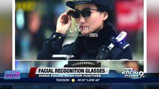 Chinese cops are using facial recognition glasses - Video