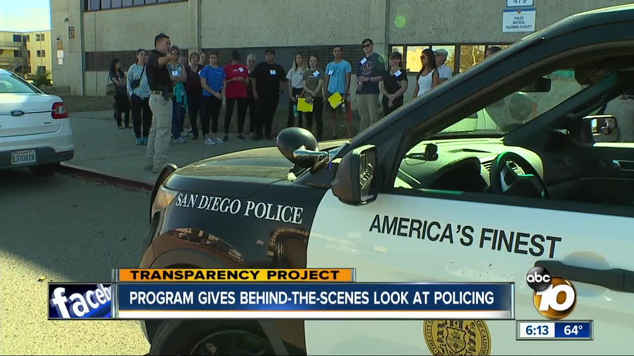 Program gives exclusive look at San Diego policing