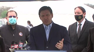Governor DeSantis speaks from Lakewood Ranch