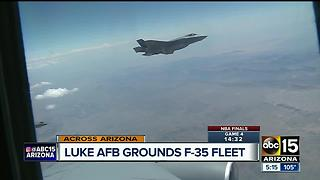 Pilots at Luke Air Force reported oxygen deprivation - Video