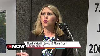 Fultz Street fires: Stanley Ford now charged in the deaths of 9 people in Akron - Video