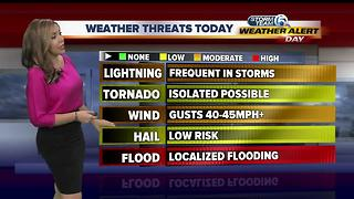 Weather Alert Day - 4am - Video