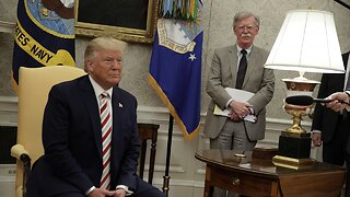 President Trump Says John Bolton 'No Longer Needed' At The White House