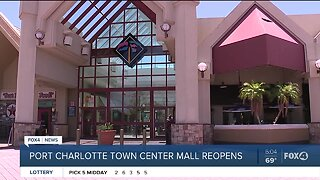 Port Charlotte Town Center Mall Reopens