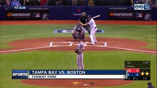 Mookie Betts and Chris Sale lead Boston Red Sox 4-2 over Tampa Bay Rays as Willy Adames debuts - Video