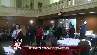 Report shows increase in Michigan poverty