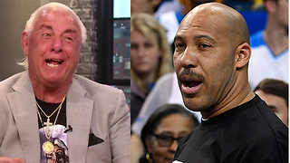 LaVar Ball TRASHED & Called Out by Ric Flair - Wooooo! - Video