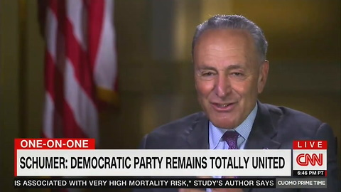 Chuck Schumer Refuses to Talk About Bill Clinton During #MeToo Interview — CNN's Cuomo Has the Perfect Reaction
