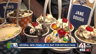Royals debut new ballpark food offerings