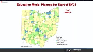 State map shows three different ways Ohio school districts are planning to return