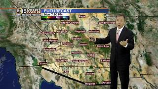 Rain chances not likely in Valley ahead of fall season
