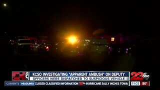 Deputies investigating a possible copycat ambush in police involved shooting