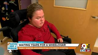 Houston, I Have a Problem: Waiting years for a wheelchair - Video
