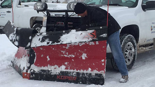 Denver deploys plows in neighborhoods - Video