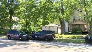 2 people shot, found dead inside burning Akron home