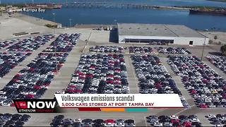Thousands of recalled VW cars sitting in Tampa - Video