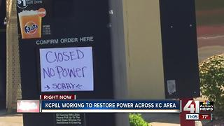 Storms leave many in Roeland Park without power amid sweltering heat - Video