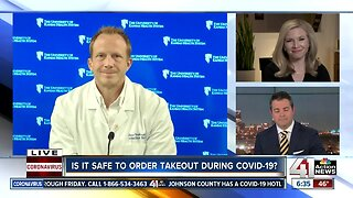 Is it safe to order takeout during COVID-19?
