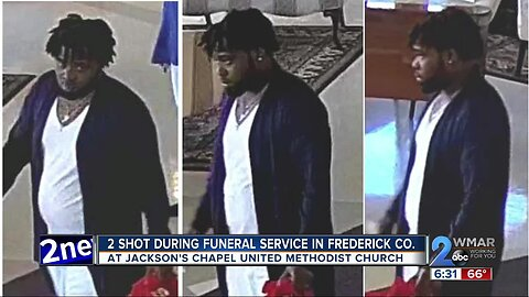 2 shot during funeral service in Frederick Co.