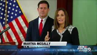 McSally appointed to U.S. Senate