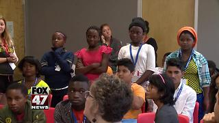 Local kids pitch business ideas during camp