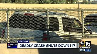 DPS: One killed in crash on I-17, suspect in custody - Video