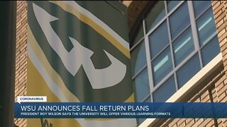 Wayne State to hold virtual town hall, answer questions about fall semester