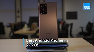 The best Android phones in 2020