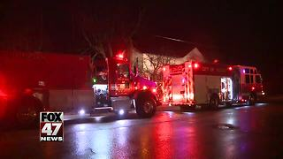 Crews respond to early morning house fire - Video