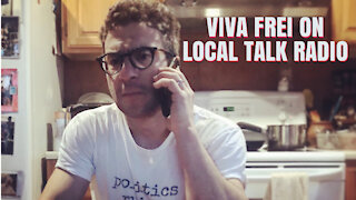 Viva Frei on Montreal Radio - Talking Covid Lockdown LUNACY!